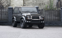 2014 Kahn Land Rover Defender front side view wallpaper 2560x1600 jpg