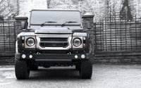 2014 Kahn Land Rover Defender front view wallpaper 2560x1600 jpg