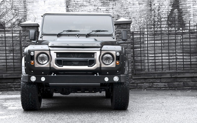 2014 Kahn Land Rover Defender front view wallpaper
