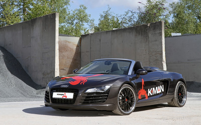 2014 Kman Audi R8 wallpaper