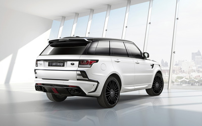 2014 Larte Design Land Rover Range Rover Sport back side view wallpaper