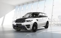 2014 Larte Design Land Rover Range Rover Sport in a show room wallpaper 2560x1600 jpg