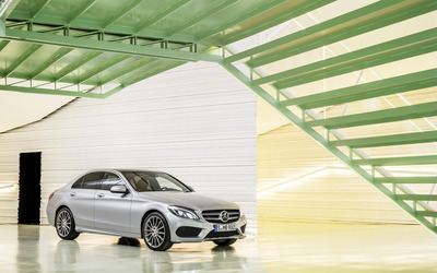 2014 Mercedes-Benz C-Class - C250 AMG Avantgarde [2] wallpaper