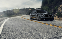2014 Mercedes-Benz E-Class on the curvy road wallpaper 1920x1080 jpg
