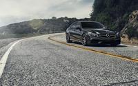 2014 Mercedes-Benz E-Class on the curvy road wallpaper 1920x1080 jpg