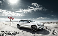 2014 Mercedes-Benz GLA wallpaper 2560x1600 jpg