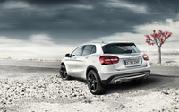 2014 Mercedes-Benz GLA [2] wallpaper 2560x1600 jpg