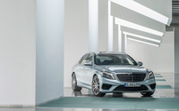 2014 Mercedes-Benz S63 AMG wallpaper 2560x1600 jpg