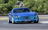 2014 Mercedes-Benz SLS Electric Drive wallpaper 1920x1080 jpg