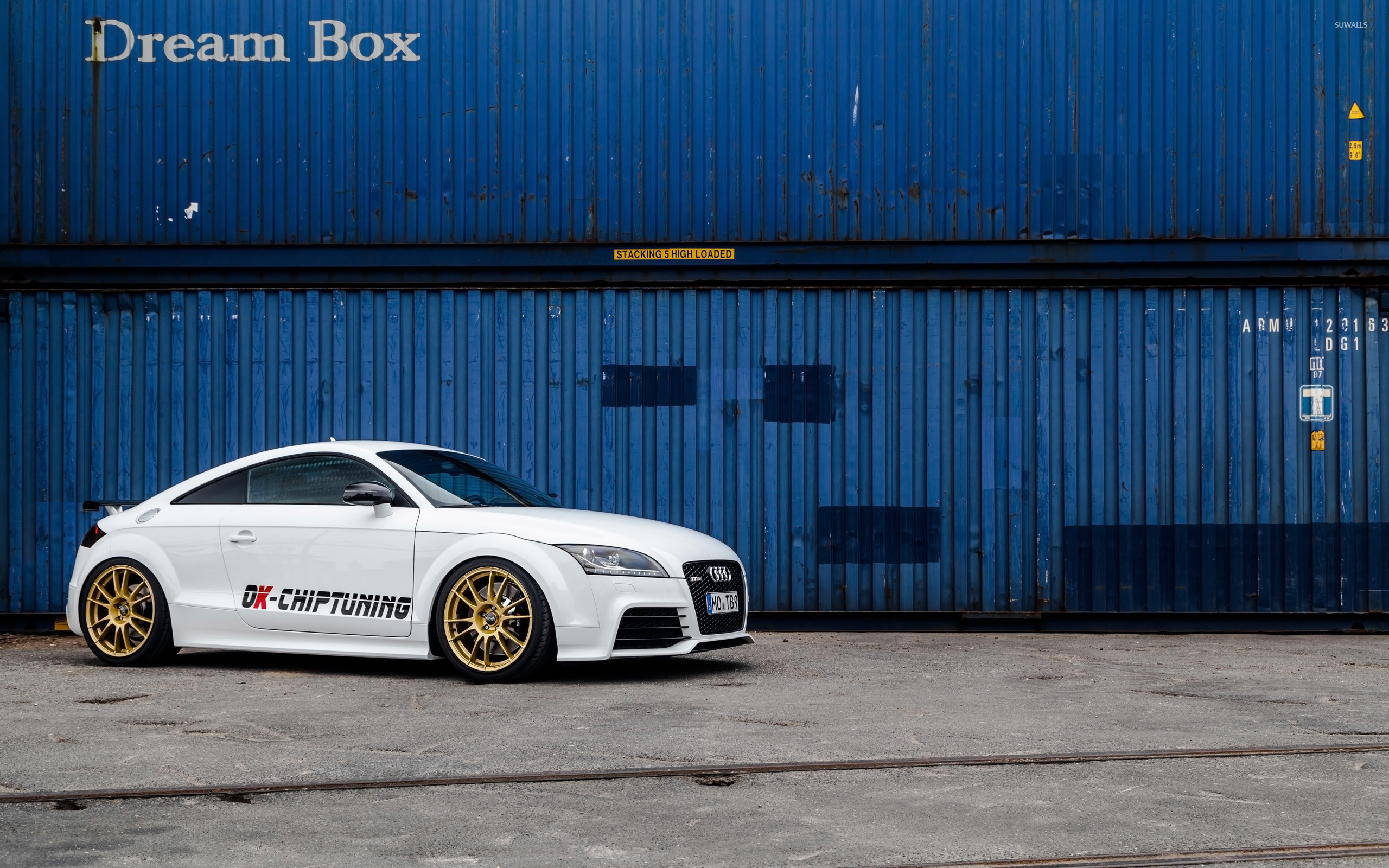 2014 Ok Chiptuning Audi Tt Rs 8 Wallpaper Car Wallpapers