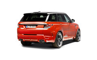 2014 Red AC Schnitzer Land Rover Range Rover back view wallpaper 2560x1600 jpg