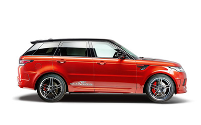 2014 Red AC Schnitzer Land Rover Range Rover side view wallpaper