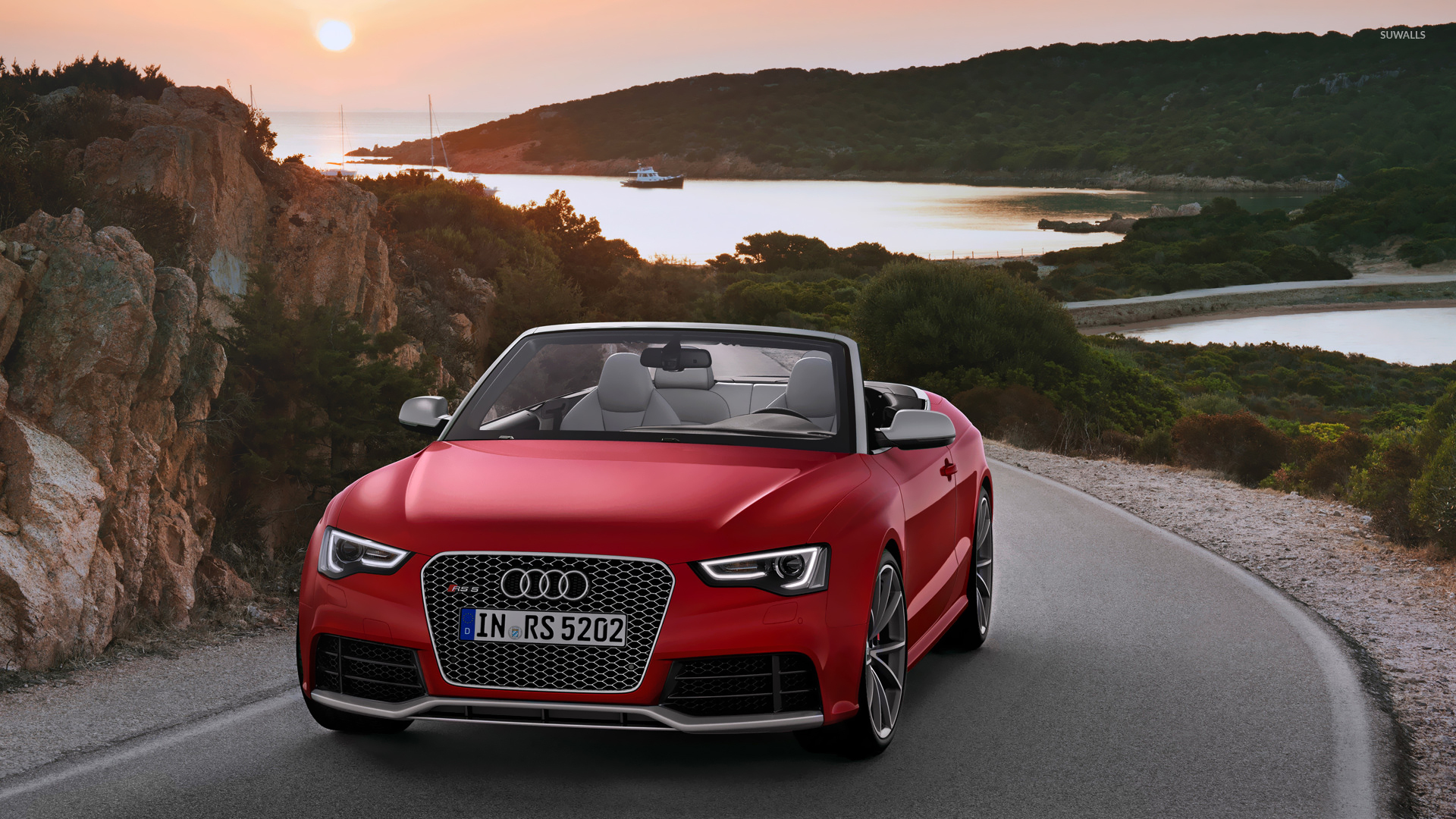 2014 Red Audi Rs5 Cabriolet Wallpaper Car Wallpapers 52903