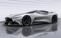 2014 Silver Infiniti Vision Gran Turismo concept wallpaper 2560x1600 jpg
