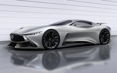 2014 Silver Infiniti Vision Gran Turismo concept wallpaper