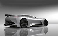 2014 Silver Infiniti Vision Gran Turismo concept back side view wallpaper 1920x1080 jpg