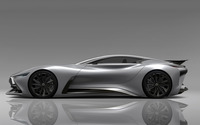 2014 Silver Infiniti Vision Gran Turismo concept side view wallpaper 1920x1080 jpg