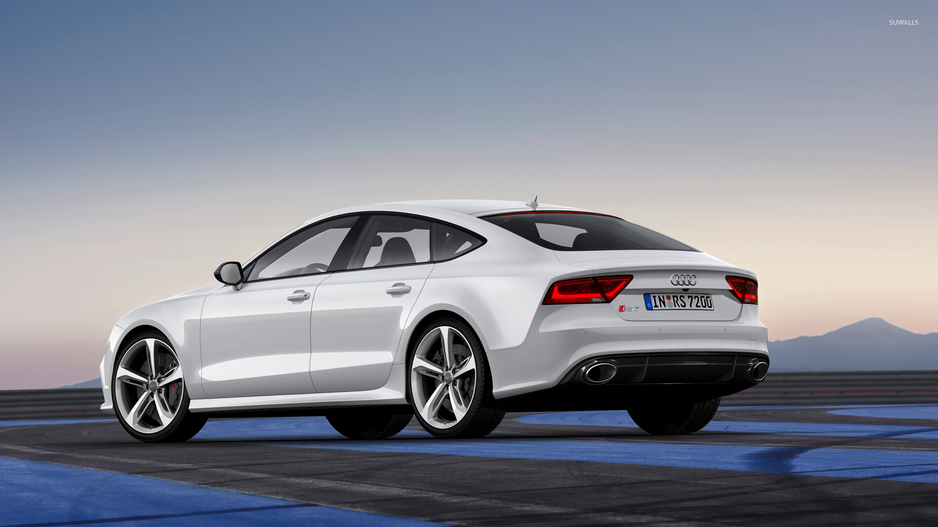 2014 White Audi RS7 Sportback wallpaper - Car wallpapers ...