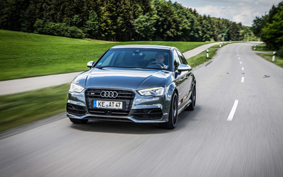2015 ABT Audi S3 front view wallpaper