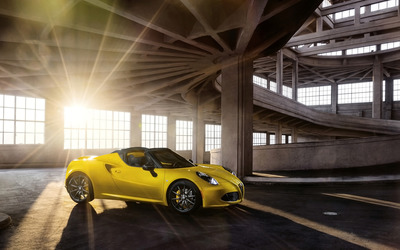 2015 Alfa Romeo 4C Spider [10] wallpaper