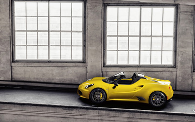 2015 Alfa Romeo 4C Spider [20] wallpaper