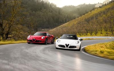 2015 Alfa Romeo 4C Spider wallpaper