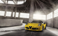 2015 Alfa Romeo 4C Spider [23] wallpaper 2560x1600 jpg