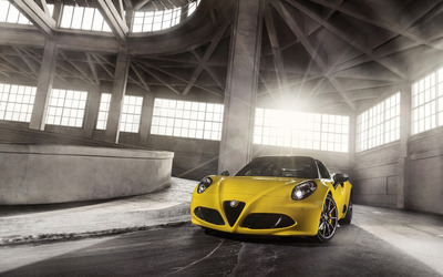 2015 Alfa Romeo 4C Spider [23] wallpaper