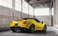 2015 Alfa Romeo 4C Spider [13] wallpaper 2560x1600 jpg