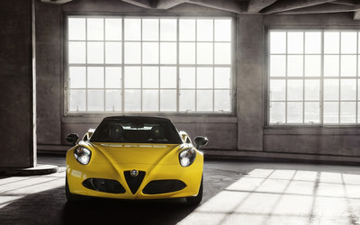 2015 Alfa Romeo 4C Spider [21] wallpaper