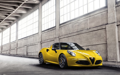 2015 Alfa Romeo 4C Spider [9] wallpaper