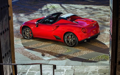 2015 Alfa Romeo 4C Spider [8] wallpaper