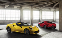 2015 Alfa Romeo 4C Spider [7] wallpaper 2560x1600 jpg