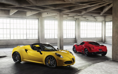 2015 Alfa Romeo 4C Spider [7] wallpaper