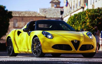 2015 Alfa Romeo 4C Spider [4] wallpaper
