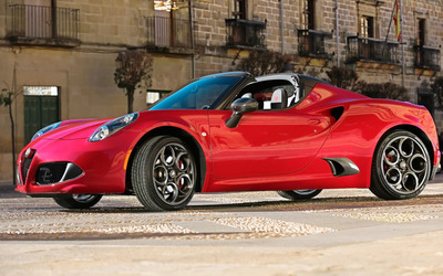 2015 Alfa Romeo 4C Spider [5] wallpaper