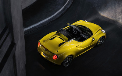 2015 Alfa Romeo 4C Spider [14] wallpaper