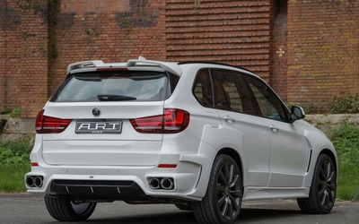 2015 ART BMW X5 back side view Wallpaper