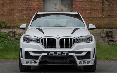 2015 ART BMW X5 front view wallpaper