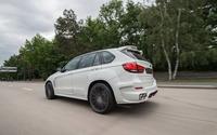 2015 ART BMW X5 on the road back side view wallpaper 1920x1080 jpg