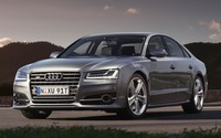 2015 Audi S8 front view wallpaper 1920x1200 jpg