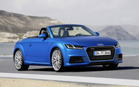 2015 Audi TT Roadster [12] wallpaper 2560x1600 jpg