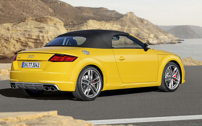 2015 Audi TT Roadster [6] wallpaper
