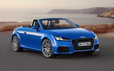 2015 Audi TT Roadster [3] wallpaper