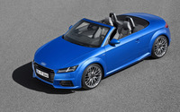 2015 Audi TT Roadster [4] wallpaper 2560x1600 jpg