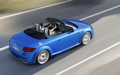 2015 Audi TT Roadster [17] wallpaper