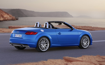 2015 Audi TT Roadster [7] wallpaper