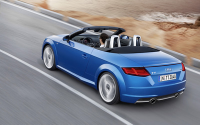 2015 Audi TT Roadster [11] wallpaper
