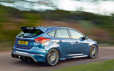 2015 Blue Ford Focus RS wallpaper