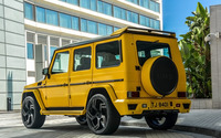 2015 DMC Mercedes-Benz G88 back view wallpaper 1920x1080 jpg